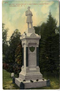 Maine Monument, Salisbury, NC