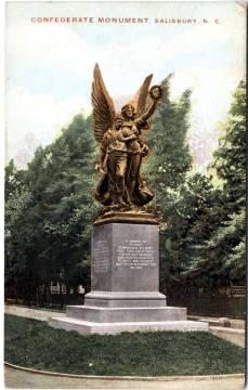 Confederate Monument, Salisbury NC