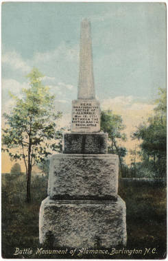 Battle Monument of Alamance