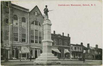 Confederate Monument, Oxford NC