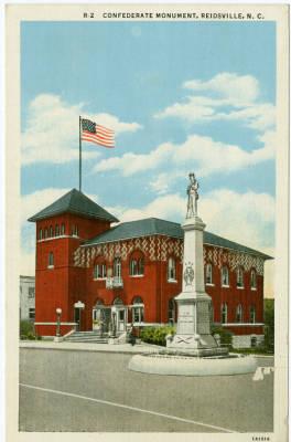 Confederate Soldier Monument, Reidsville