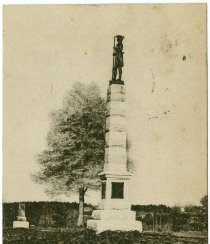 Greensboro, N.C. Colonial [Hunter] Monument--Guilford Battle Ground