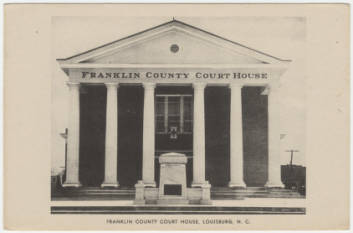 Franklin County Courthouse, Louisburg, NC
