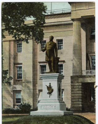 Vance Statue, Raleigh NC