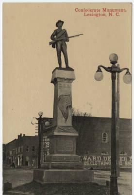 Confederate Monument, Lexington NC