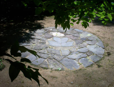 Coker Arboretum Gathering Circle, UNC Chapel Hill