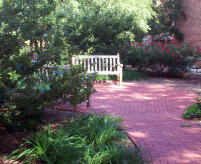 Paul Wellstone Memorial Garden, University of North Carolina - Chapel Hill