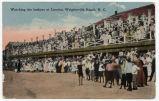 Watching the bathers at Lumina, Wrightsville Beach, N.C.
