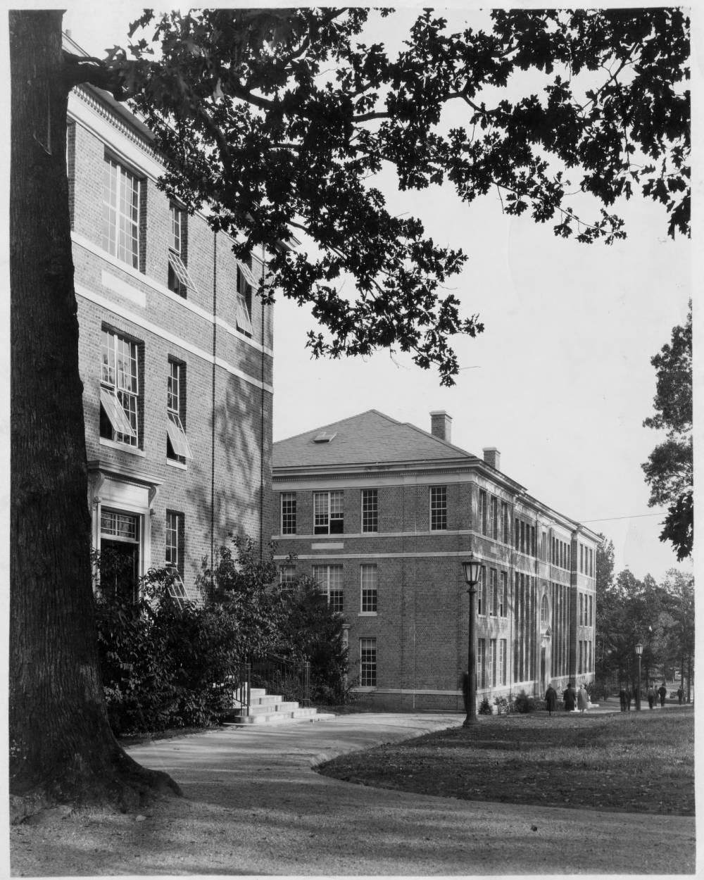 Historical Photo of Bingham Hall