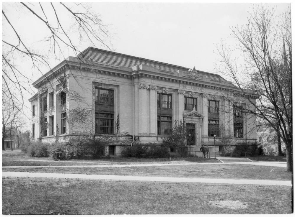Historical Photo of Hill Hall