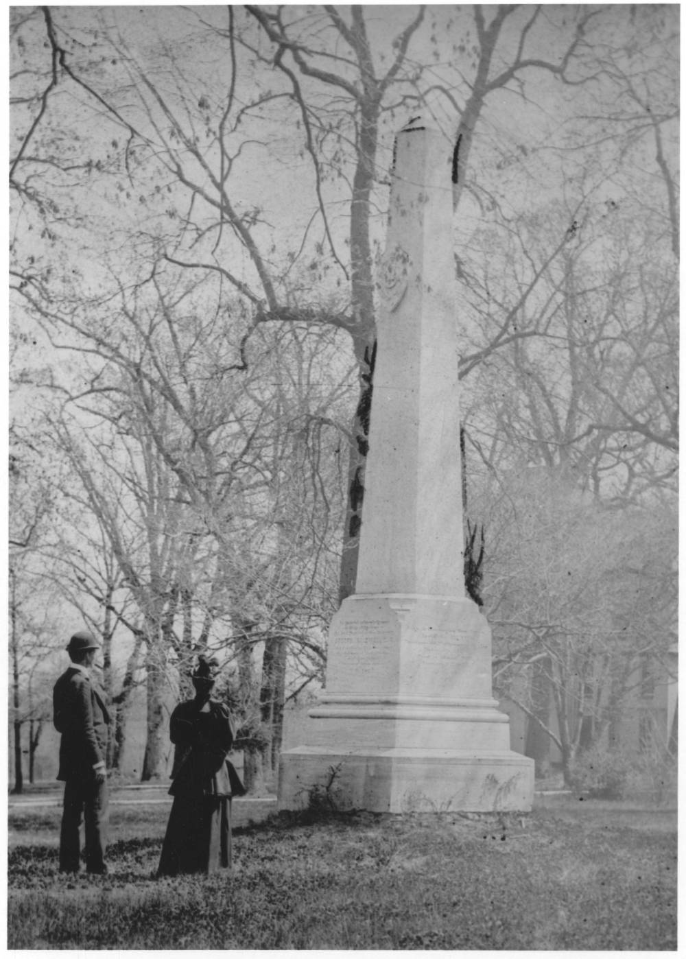 """""""Caldwell Monument, 1890-1939: Scan 1,"""" in the University of North Carolina at Chapel Hill Image Collection Collection #P0004, North Carolina Collection Photographic Archives, The Wilson Library, University of North Carolina at Chapel Hill."""