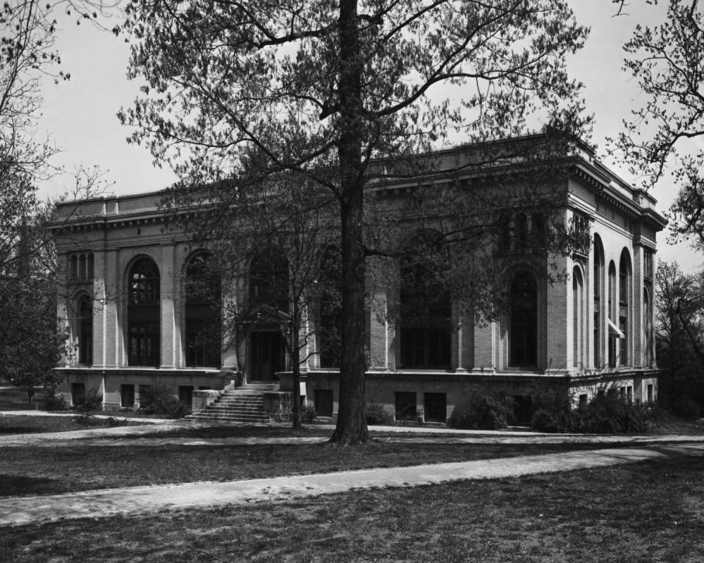 Historical Photo of Howell Hall