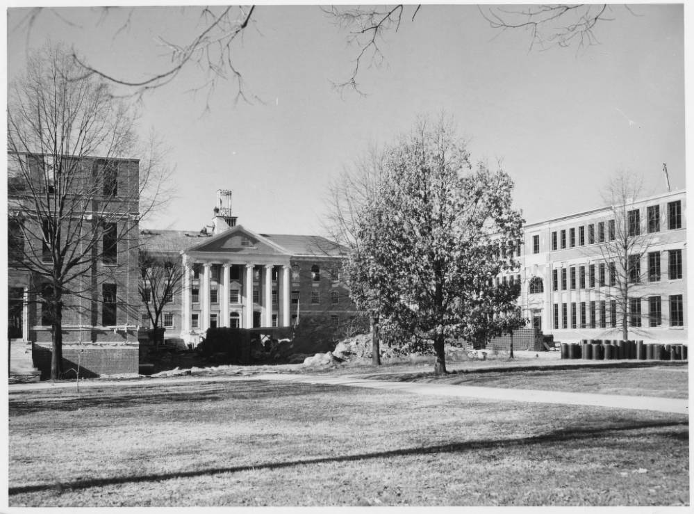 Historical Photo of Carroll Hall