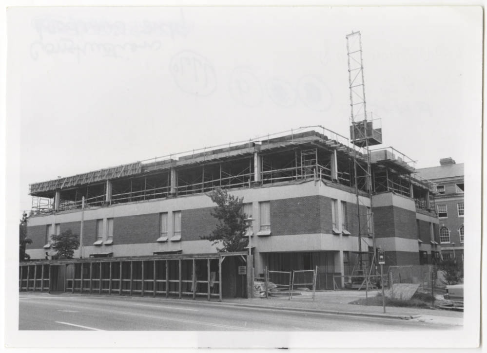 Historical Photo of Health Sciences Library