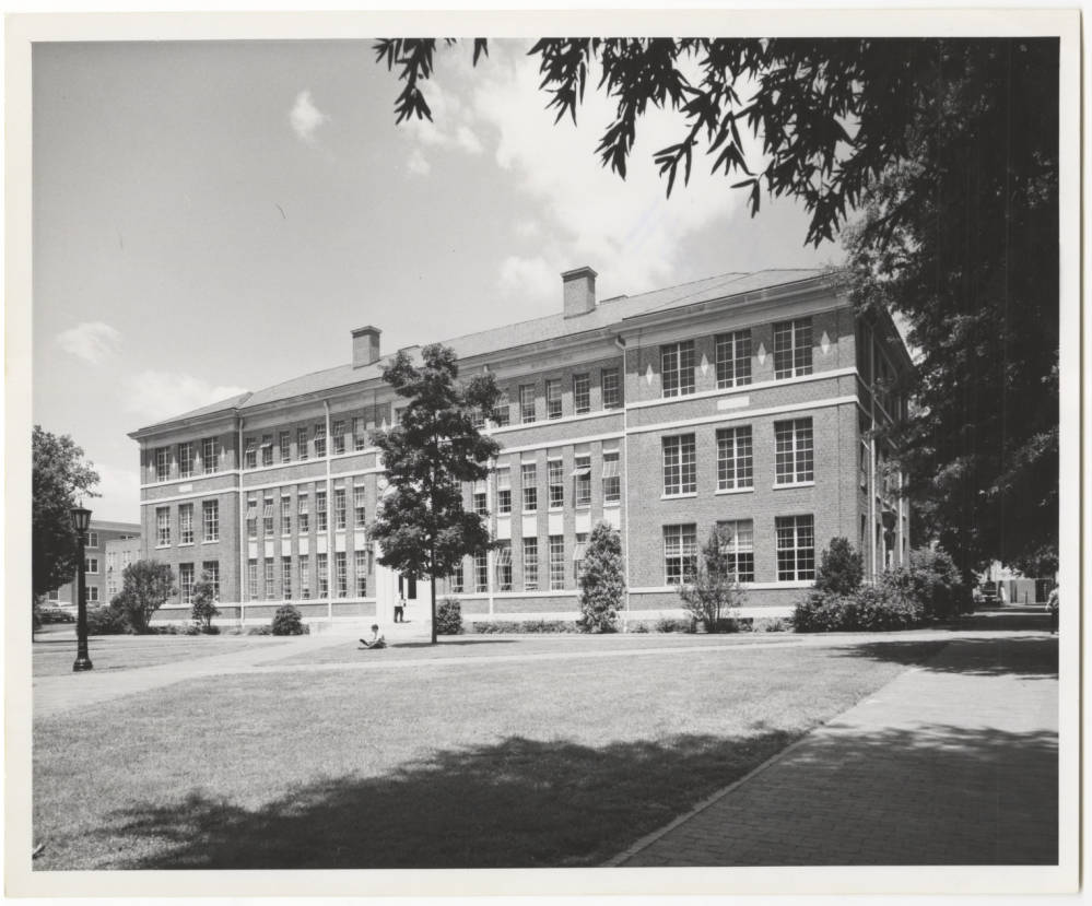 Historical Photo of Hanes Hall