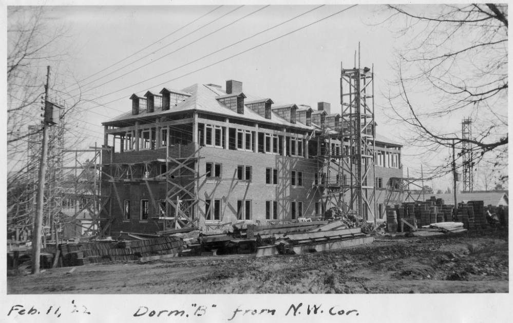 Historical Photo of Grimes Residence Hall