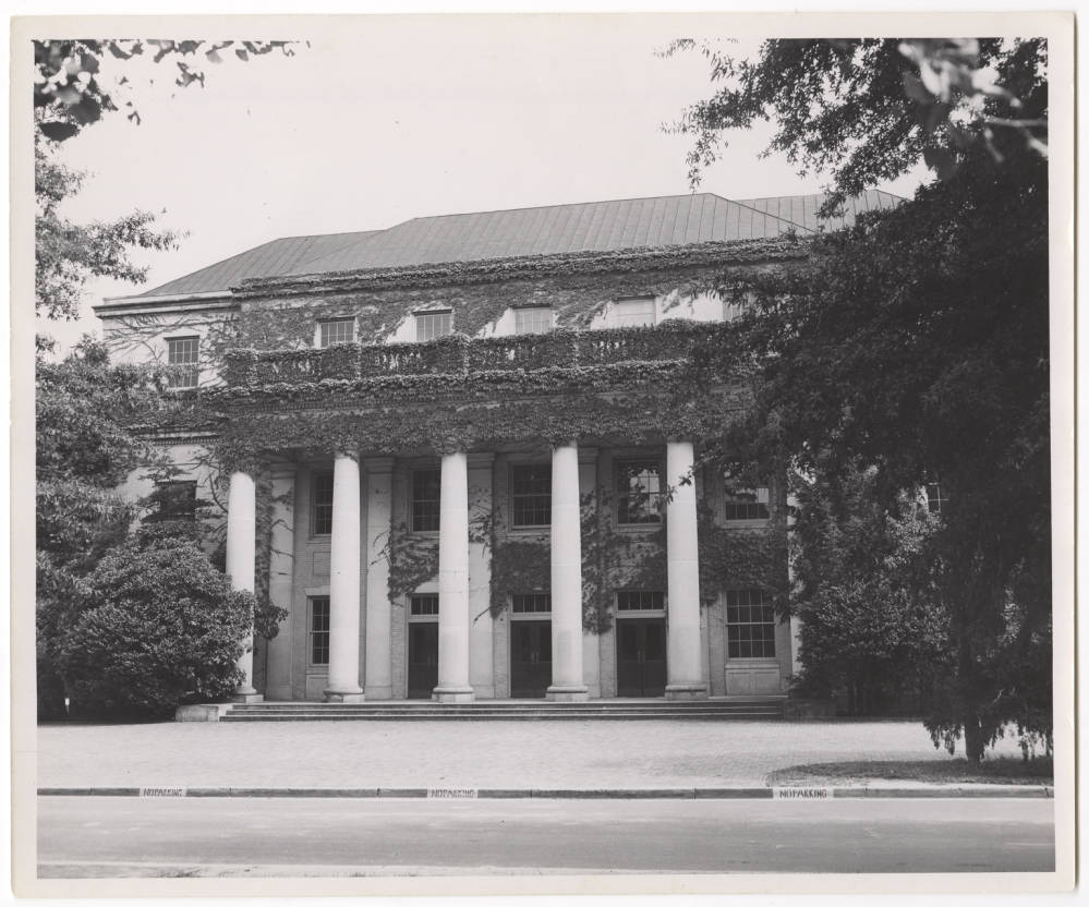 Historical Photo of Memorial Hall