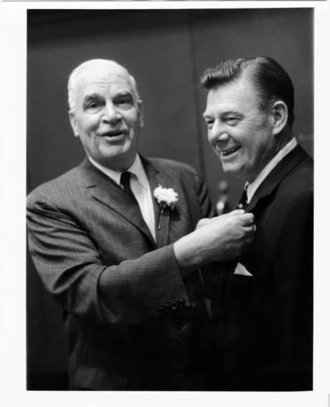 Gov. Luther Hodges and Arthur Godfrey