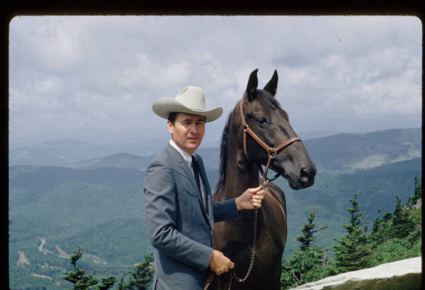 Fess Parker at Grandfather Mountain