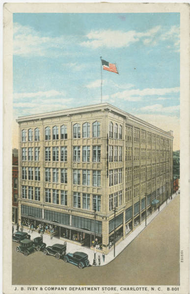 J.B. Ivey & Company Department Store, Charlotte, N.C.