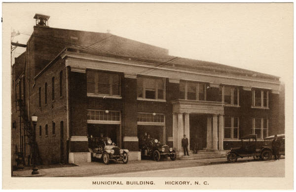 Municipal Building.  Hickory, N.C.