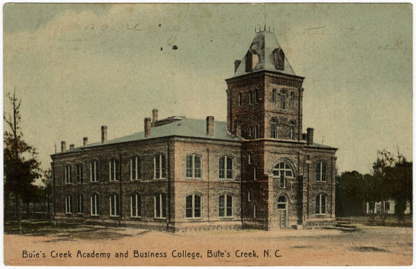 Buie's Creek Academy and Business College, Buie's Creek, N.C.