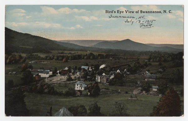Bird's Eye View of Swannanoa, N.C.