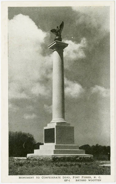 Monument to Confederate Dead, Fort Fisher, N.C.