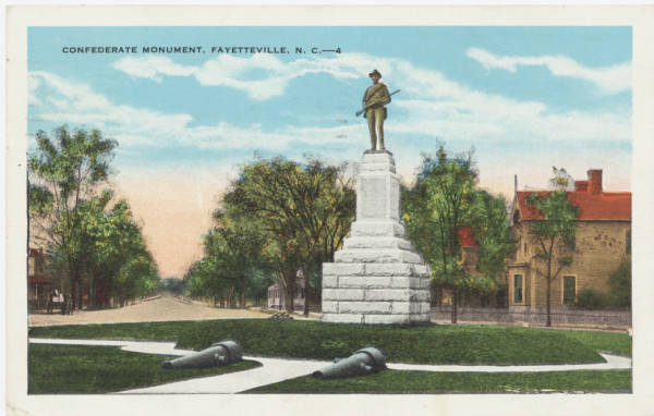 Confederate Monument, Fayetteville, N.C.