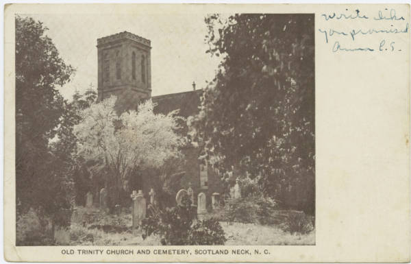Old Trinity Church and Cemetery, Scotland Neck, N.C.
