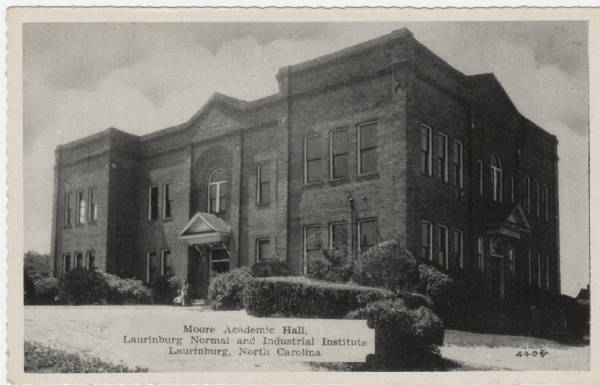 Moore Academic Hall, Laurinburg Normal and Industrial Institute, Laurinburg, North Carolina