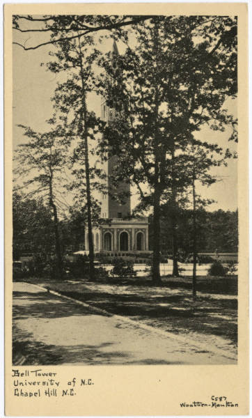 Bell Tower, University of N.C., Chapel Hill N.C.