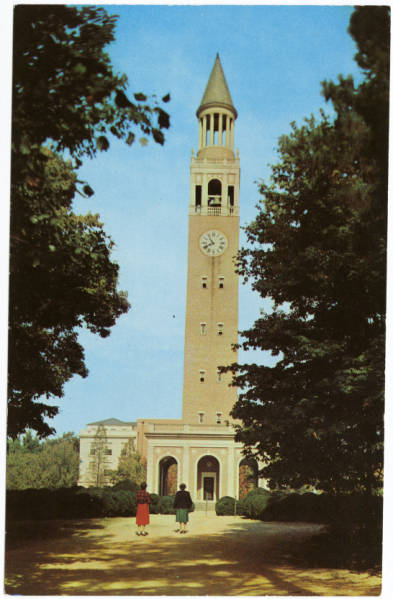 Morehead Patterson Bell Tower, University of North Carolina, Chapel Hill, N.C.