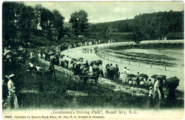 """Gentleman's Driving Park,"" Mount Airy, N.C."