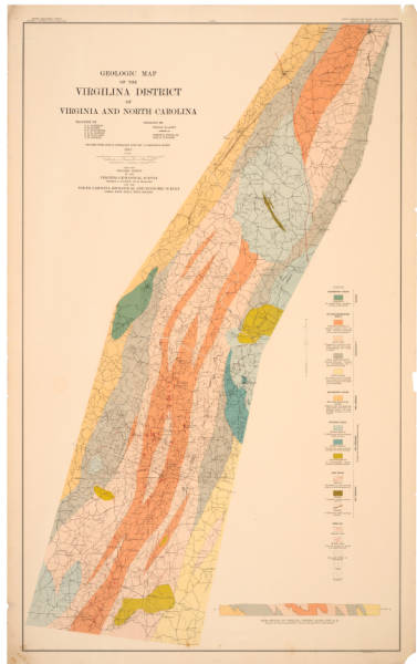 Geologic map of the Virgilina district of Virginia and North Carolina
