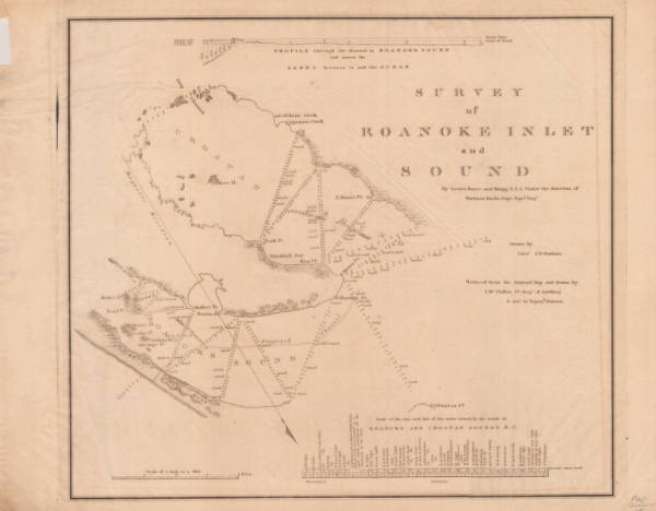 Survey of Roanoke Inlet and Sound
