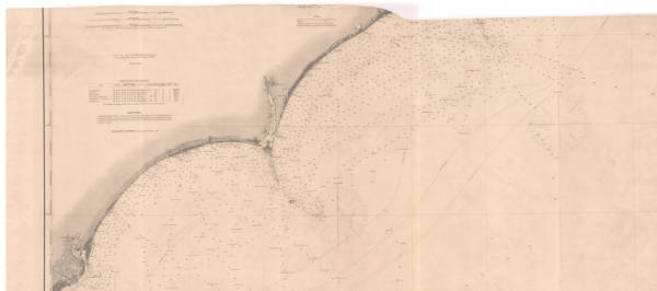 [General chart of the coast from Bear Inlet to Cape Romain].