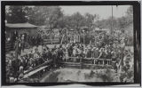 Black and White Photographic Print 0201: Lee County: Cumnock: Coal mine disaster, circa 30 May-3...