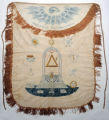 Masonic apron of William McCauley, 1793