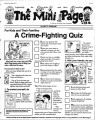A Crime-Fighting Quiz