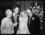Luther Hodges, Jr. wedding