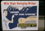 Grandfather Mountain advertisement