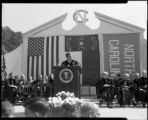 John F. Kennedy at University Day