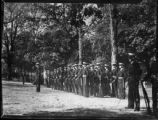 UNC-Chapel Hill military drill, circa 1942