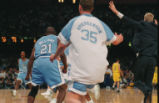 1993 NCAA championship, UNC v. Michigan basketball