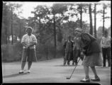 Agnes Morton putting