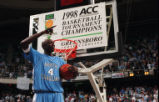 1998 ACC tournament, UNC championship celebration
