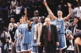 UNC Basketball bench, 1999