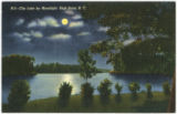 City Lake by Moonlight, High Point, N.C.