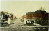 College Ave., Looking North, Normal College Buildings, Greensboro, N.C.